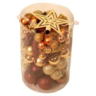 100 Piece Christmas Ornament Kit
