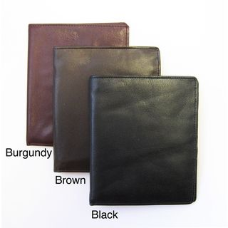 Mens Genuine Leather Bi fold Wallet