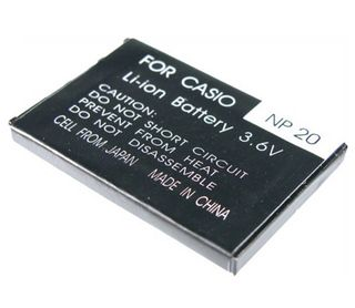 Battery NP 20 for Casio EXILIM