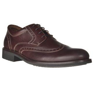 Johnston & Murphy Mens Vester Leather Wingtip Shoes