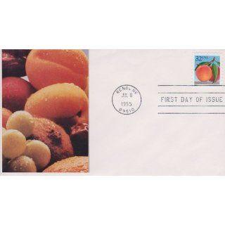 Peach 32 Cent First Day Of Issue July 8 1995 Reno NV