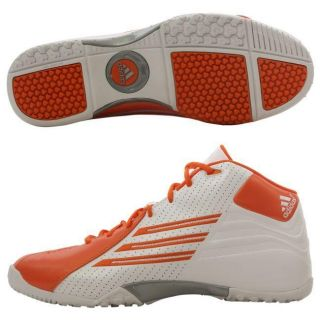 Adidas Mens Scorch TR White/ Orange Football Shoes