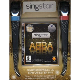 SINGSTAR ABBA + MICROS / JEU CONSOLE PS3   Achat / Vente PLAYSTATION 3