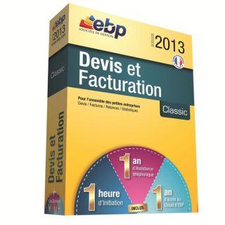 EBP Devis et Facturation Classic 2013   Achat / Vente LOGICIEL