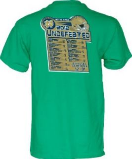 Notre Dame Fighting Irish 2012 BCS Official Undefeated