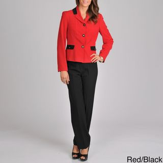 Signature by Larry Levine Womens Unmatched Pant Suit