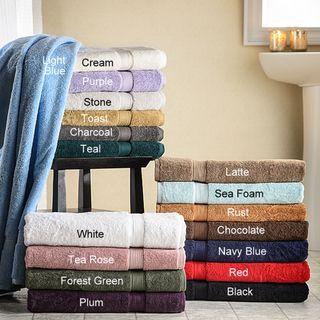 Luxurious 900 Gram Egyptian Cotton Bath Towels (Set of 2)