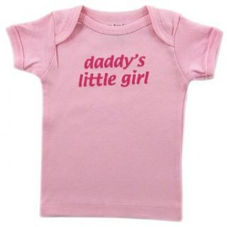 Luvable Friends Tee Top Daddys Little Girl, Pink 24