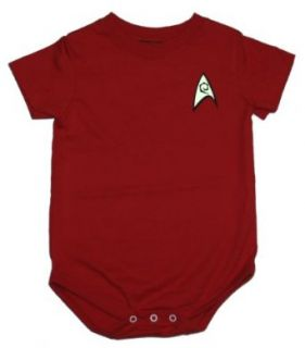 Star Trek Engineering Uniform Scotty Creeper Romper