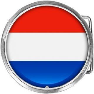 Netherlands Flag Belt Buckle Clothing