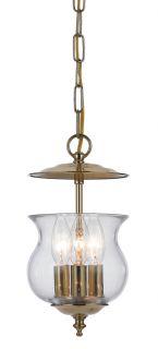 Ascott 3 light Polished Brass Pendant Today $108.99