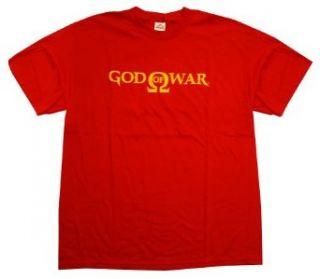 God Of War Kratos Logo Video Game Adult T Shirt Tee