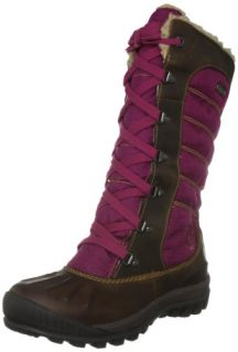 TIMBERLAND Earthkeepers Mount Holly Duck Boot dark brown/violet Shoes