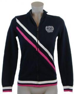 Tommy Hilfiger Womens Full Zip Track Jacket Sweatshirt