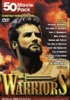 Warriors Classics 50 Movie Pack (DVD)