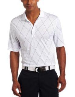 IZOD Mens Short Sleeve Printed Argyle Polo Clothing