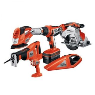 Black & Decker Firestorm 18 volt 6 tool Cordless Combo Kit