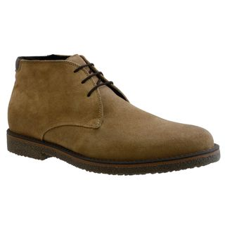 GBX Mens Beige Suede Ankle Boots