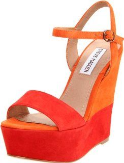 Steve Madden Womens Wimzikul Wedge Sandal Steve Madden Shoes