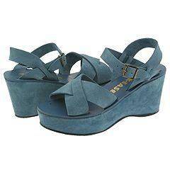 Kork Ease Ava Blue Suede(Size 9 M)