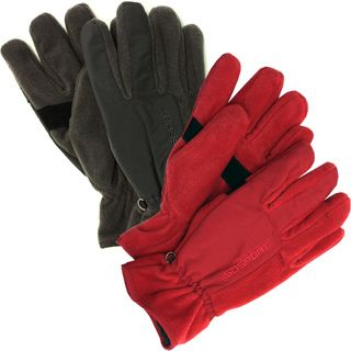 Isotoner Mens Polar Fleece Insolated Gloves