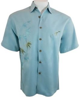 Bamboo Cay Mens Tropical Style, Button Front Shirt