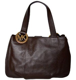 Coffee Leather Fulton Large EW Tote Bag Shoulder Handbag Purse Shoes