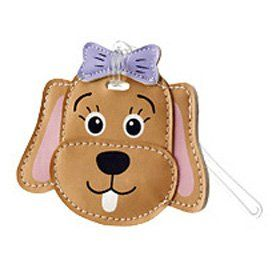 Travel Smart TS052PUP Childrens Luggage Tag   Puppy