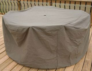 Heavy duty Outdoor 48 54 inch Table/ Chair Cover