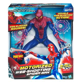 Hasbro Spiderman 13 inch Web Shooting Spiderman