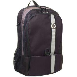 DadGear Backpack Black Retro Stripe Diaper Bag