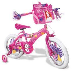 Barbie Girls Bike (16 Inch Wheels)