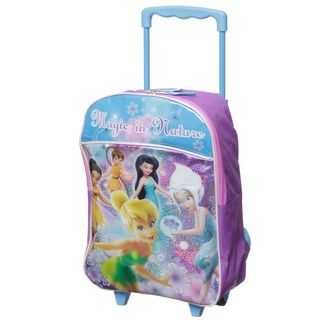 Disney Fairies 16 inch Kids Rolling Backpack