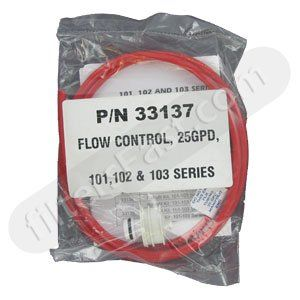 33137 Flow Control for 25 GPD for 101 103 Series