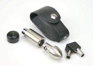 LifeLong Locks 103 Stainless Steel Motorcycle Rotor Wheel Lock with