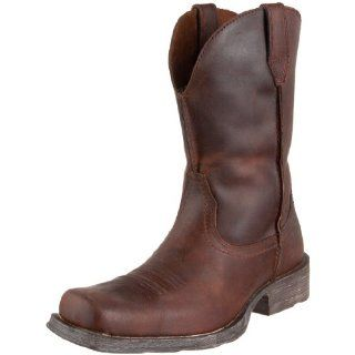 Ariat Mens Rambler Western Boot Shoes