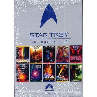 STAR TREK  Lintégrale des films en DVD en DVD FILM pas cher