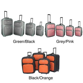Hercules Express Collection 4 piece Luggage Set