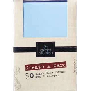 Grant Studios Create A Card Set 50 Cards and Envelopes