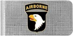 101st Airborne Division Screaming Eagle US Army Money Clip