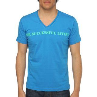 DIESEL T Shirt Stary Homme Bleu royal   Achat / Vente T SHIRT DIESEL T