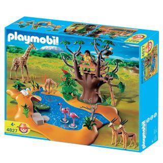 Playmobil Wild Life Waterhole Play Set