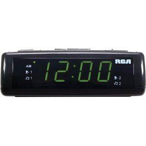 New   RCA RC105 Desktop Clock Radio   GE4601: Electronics