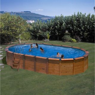 HAWAII Piscine ovale 4 renforts en U   Achat / Vente KIT PISCINE