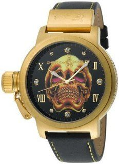 Christian Audigier Unisex ETE 103 Eternity Gold Death Skull Ion
