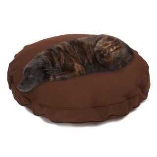 Sweet Dreams Brown Indoor/ Outdoor Round Corded Sunbrella Fabric Pet