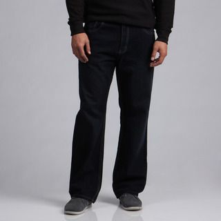 Jeans Colony Mens Relaxed Fit Black Jeans