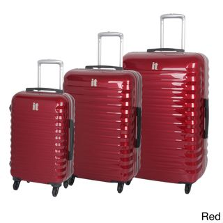 International Traveller Vigo 3 piece Hardside Spinner Luggage Set
