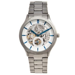 Fossil Mens Stainless Steel Ansel Automatic Watch