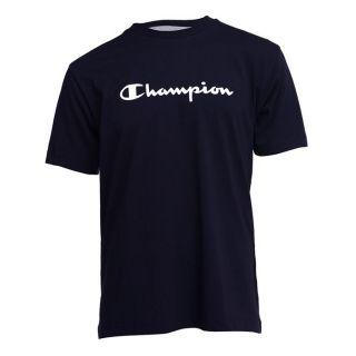 CHAMPION T Shirt Homme Marine   Achat / Vente T SHIRT CHAMPION Tee